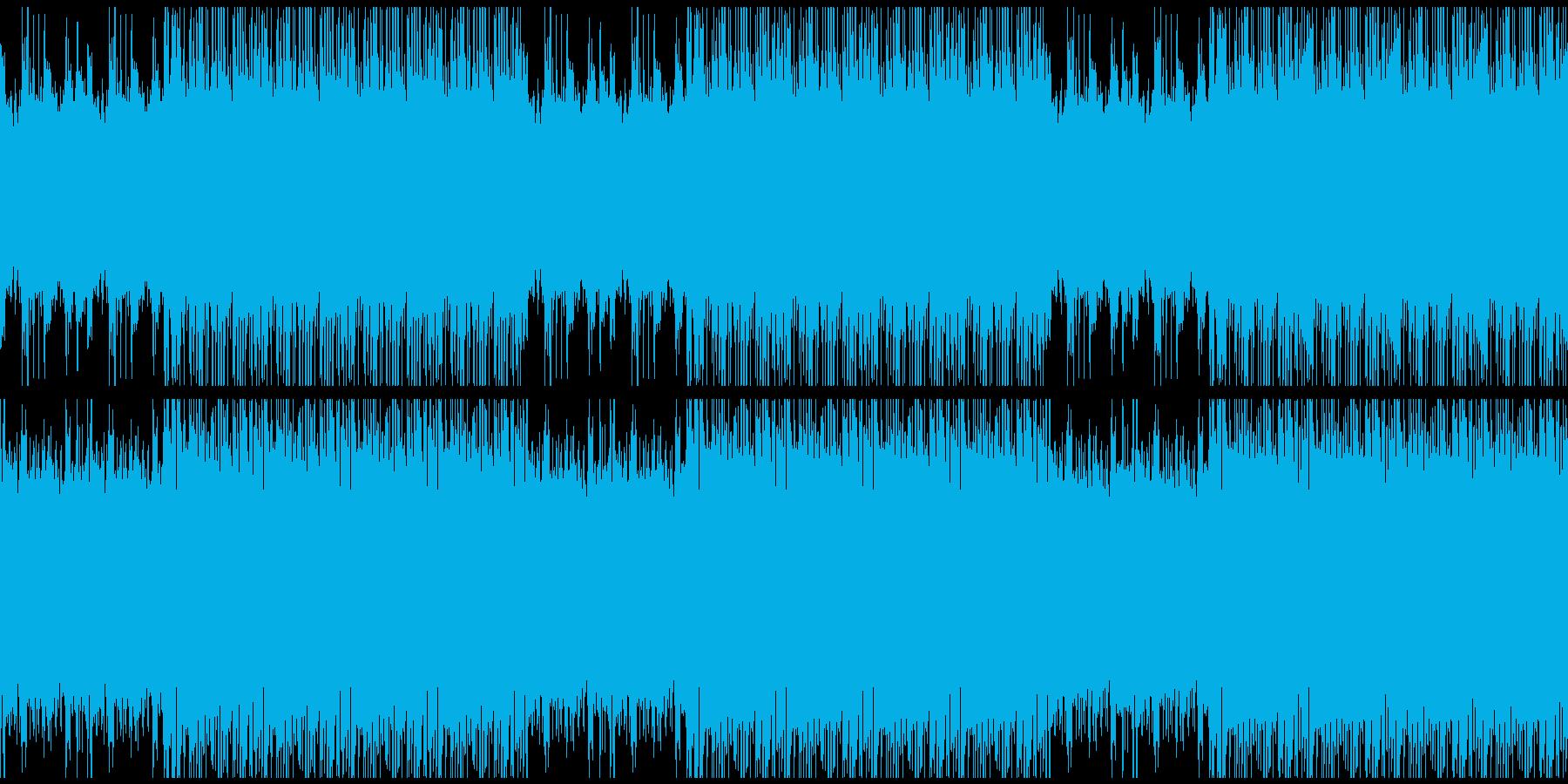 【高級感を演出するストリングス/ループ】の再生済みの波形