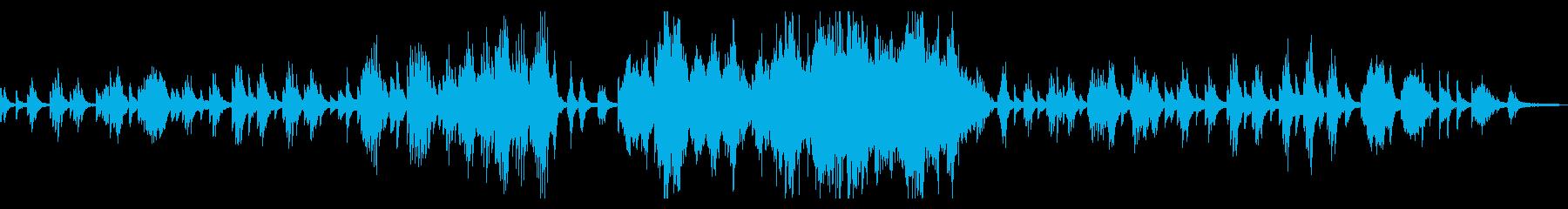 ドビュッシー「月の光」原曲ピアノソロの再生済みの波形
