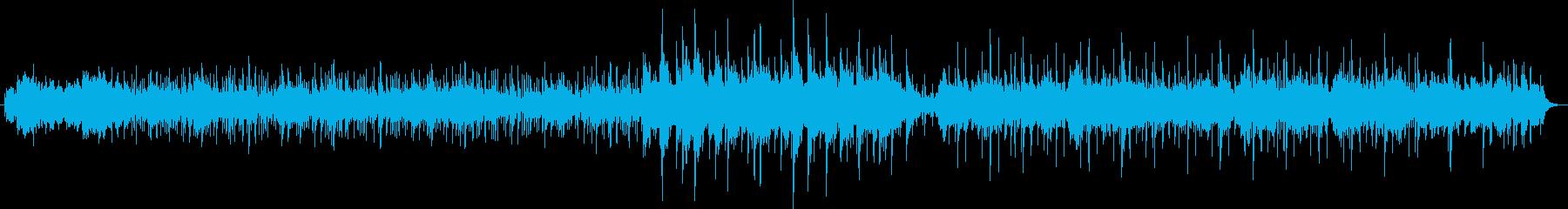 海底イメージの幻想的なチルアウトの曲ですの再生済みの波形