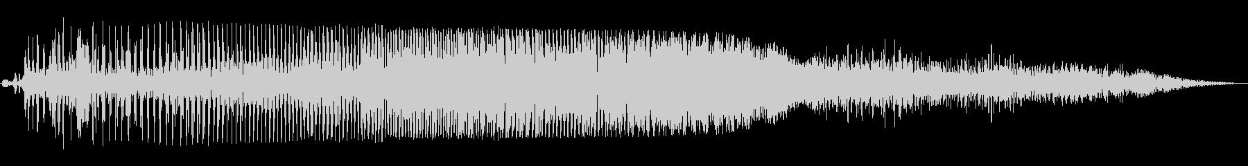 ブ〜ブル〜ン(オートバイのエンジン音)の未再生の波形