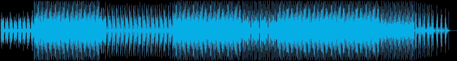 まったりかわいげギターチルホップの再生済みの波形