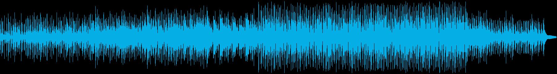 子供や動物の映像に、ほのぼの系BGMの再生済みの波形
