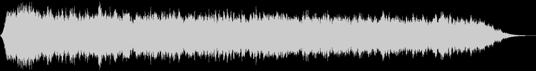 【ダークアンビエント】退廃的なBGMの未再生の波形