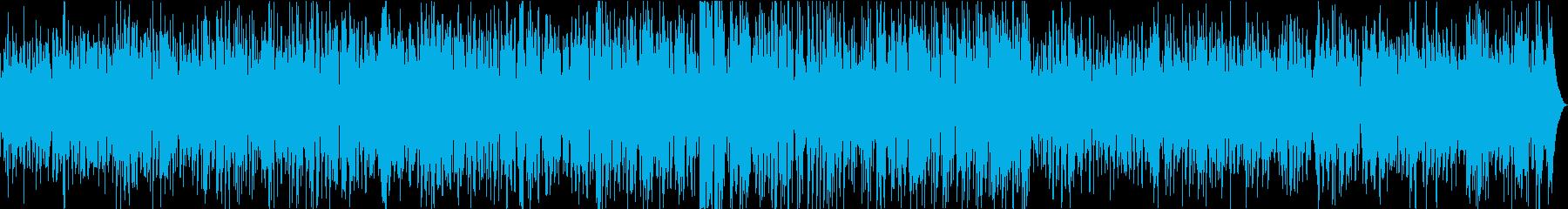 【生演奏】渋い大人のカフェボサノバの再生済みの波形
