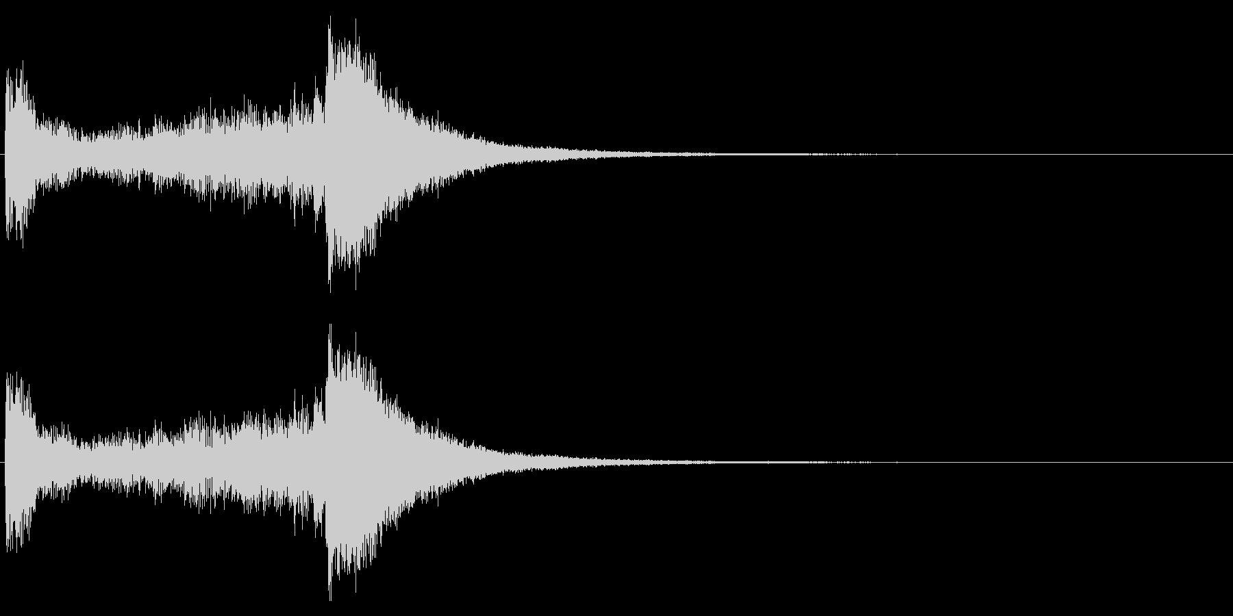 汎用06 ドラムロール(3秒でシンバル)の未再生の波形