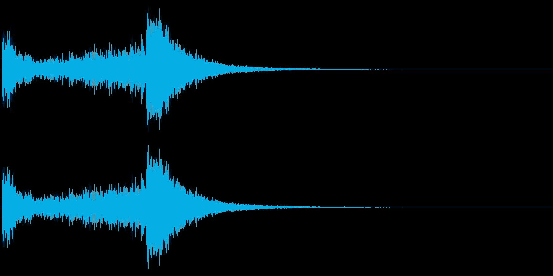 汎用06 ドラムロール(3秒でシンバル)の再生済みの波形