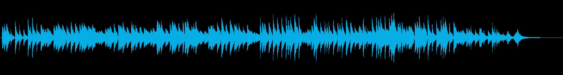 童謡「こいのぼり」伴奏にもなるピアノソロの再生済みの波形