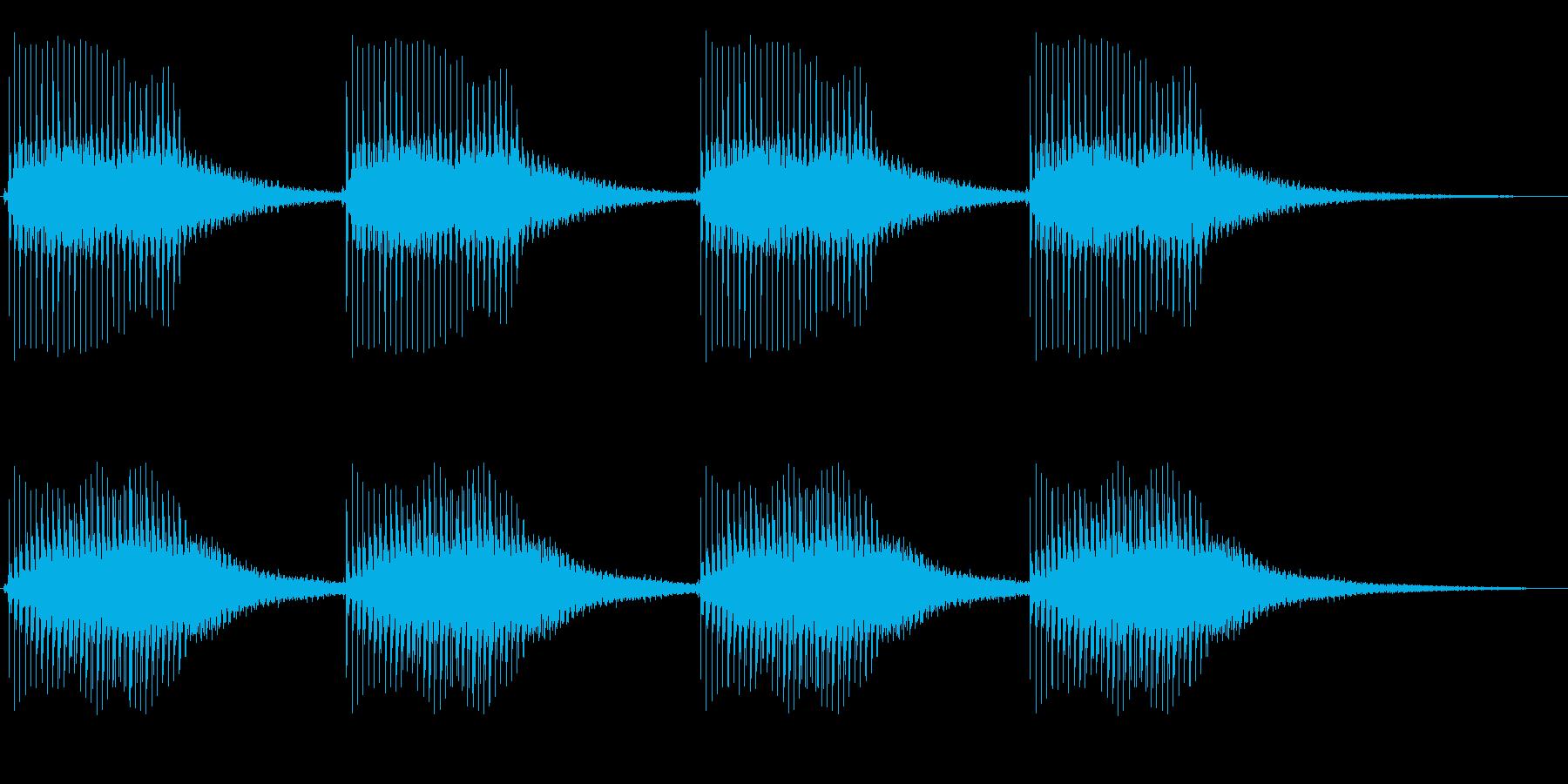 「ラスボスが出て来そうな音」の再生済みの波形