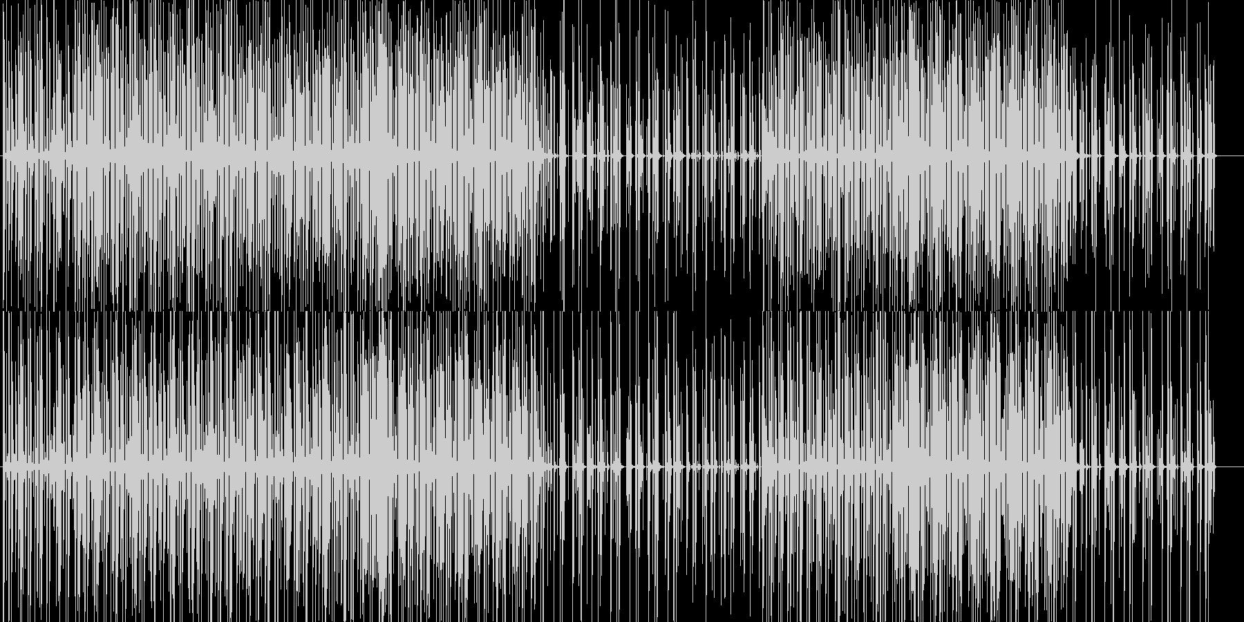 かわいくてお洒落サンプリング♪エレクトロの未再生の波形