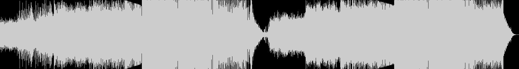 ダンスミュージック(EDM)の未再生の波形