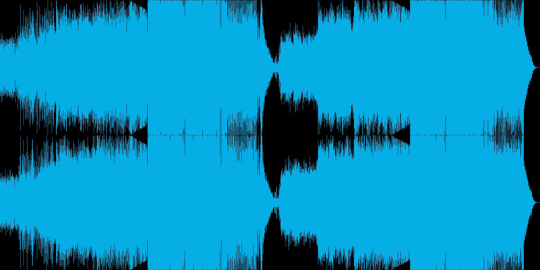 ダンスミュージック(EDM)の再生済みの波形