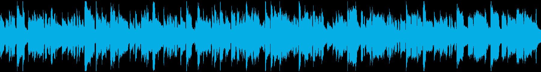 のんびりしたゆるいリコーダー ※ループ版の再生済みの波形