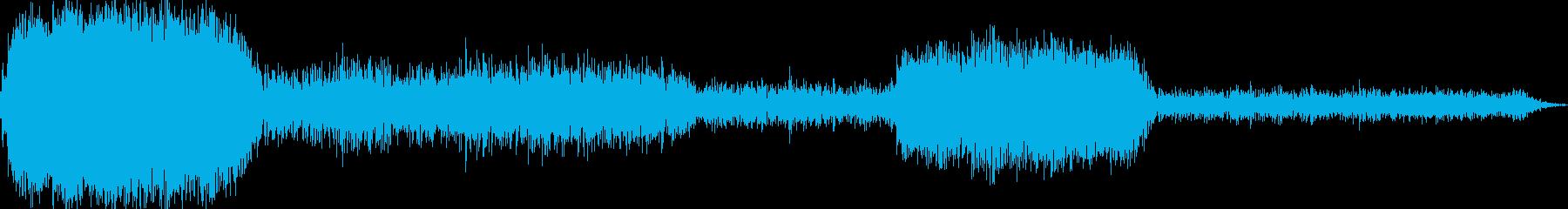 AMGアナログFX 51の再生済みの波形