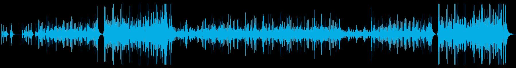 躍動感ある伝統の和太鼓アンサンブルの再生済みの波形