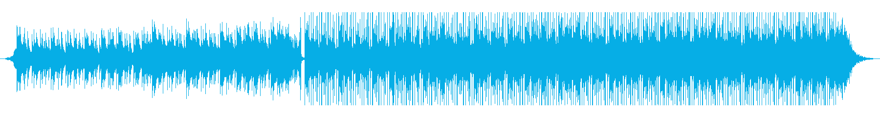 アラビア音楽の再生済みの波形