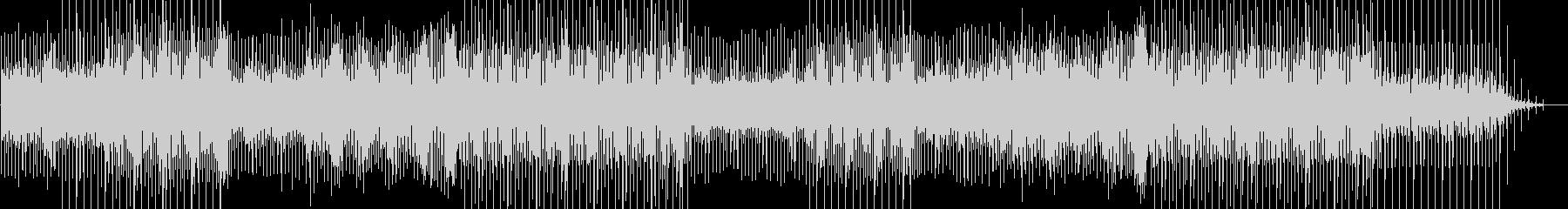 プログレッシブなハウスのEDM曲の未再生の波形