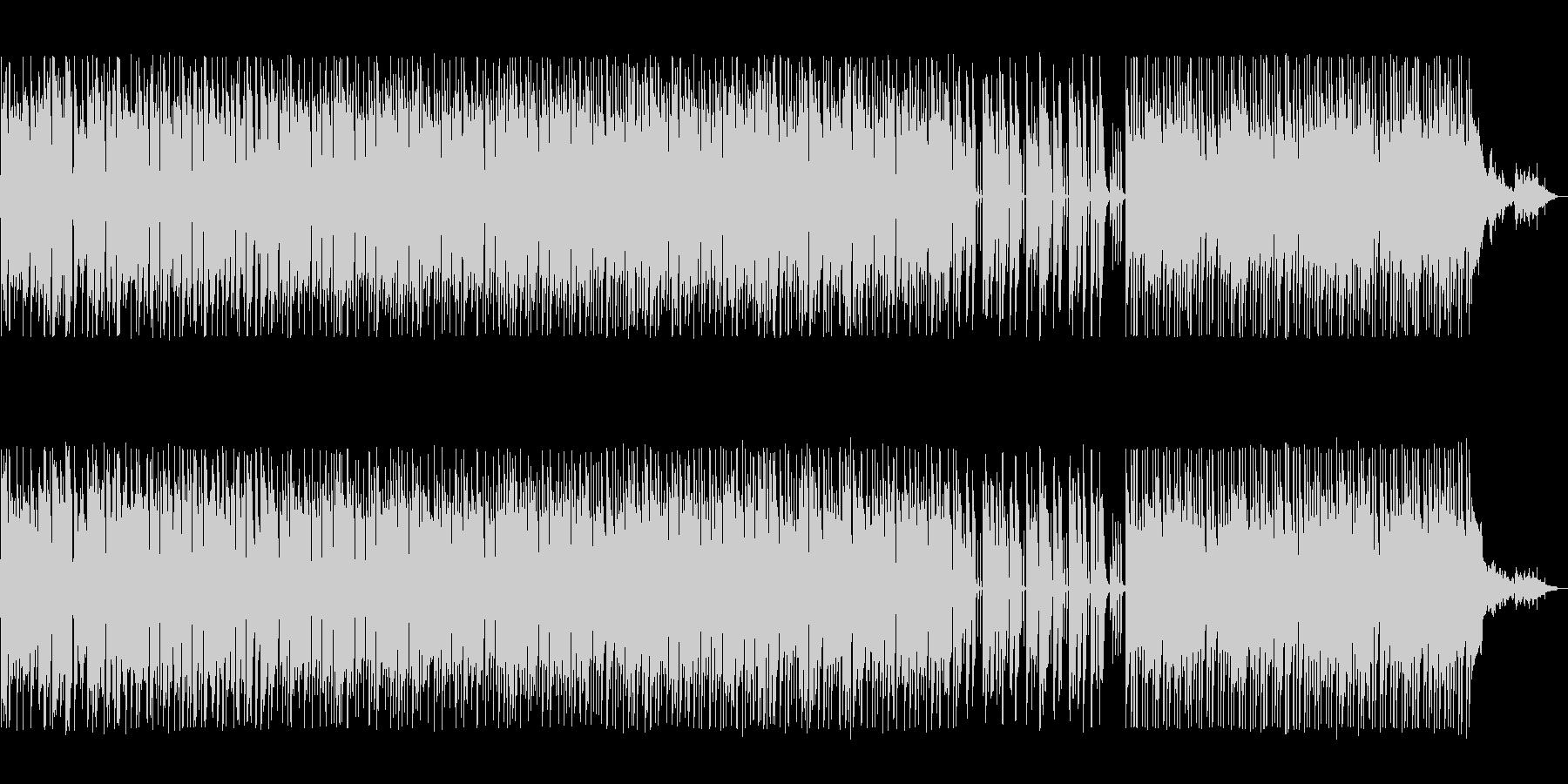ウキウキする軽快なシンセボサノバの未再生の波形