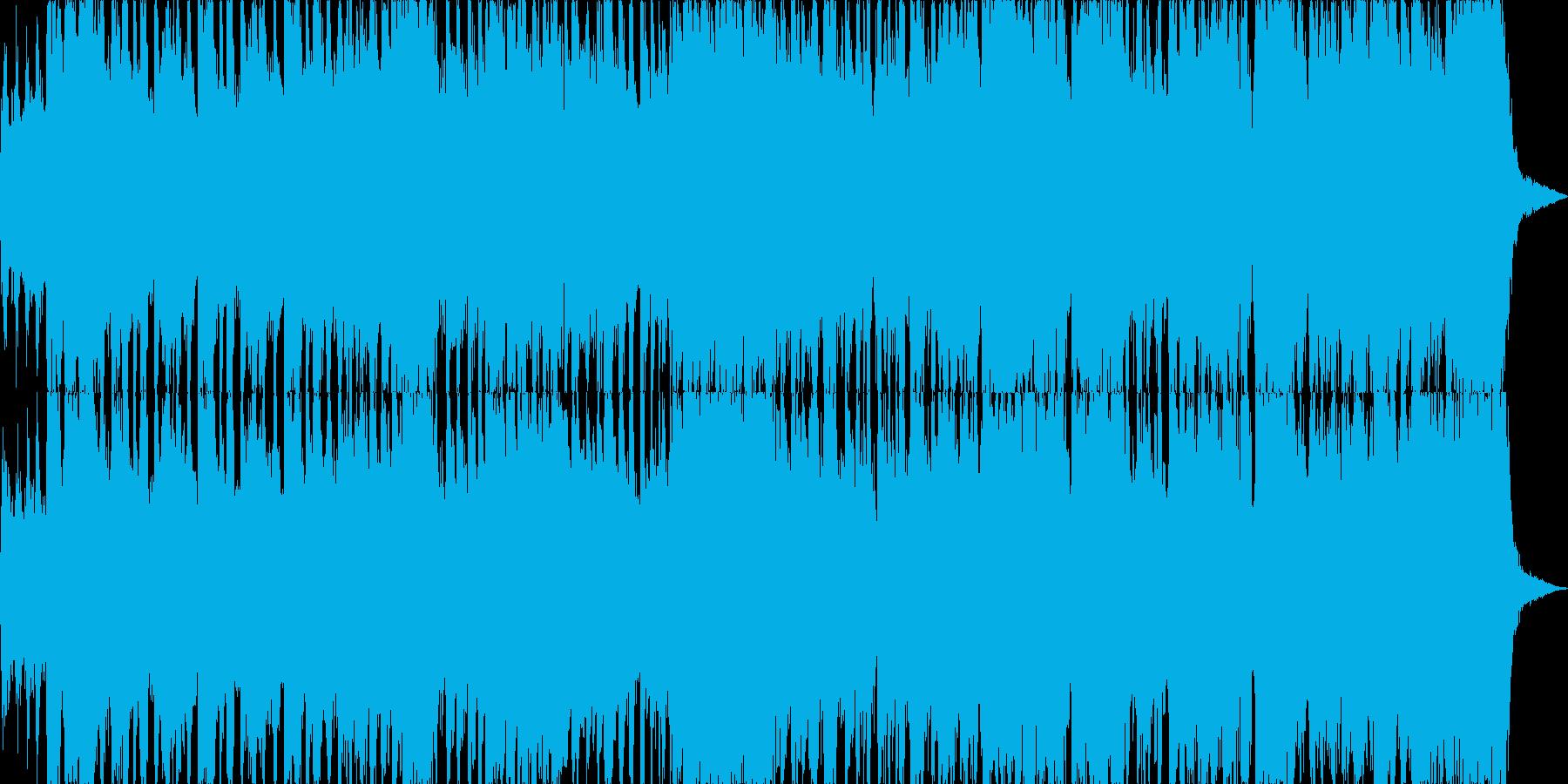 エレキギターが印象的なビッグバンドジャズの再生済みの波形