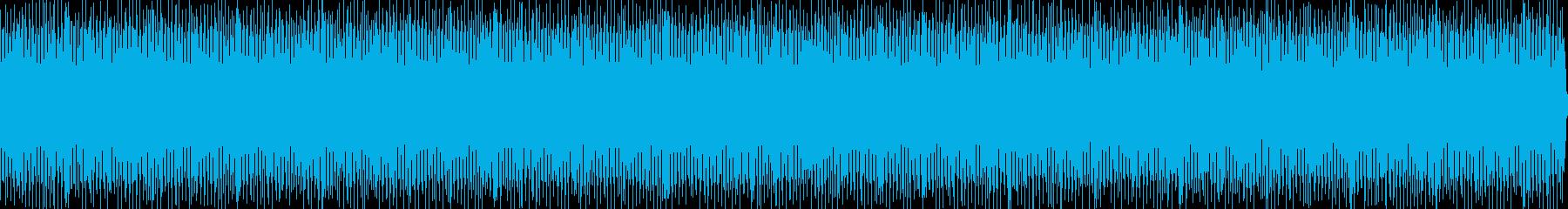 落ち着いたインスト曲、再生時間28分半弱の再生済みの波形