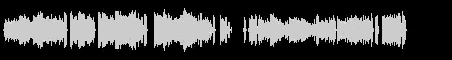 電気アーク3;安定したスパークのオ...の未再生の波形