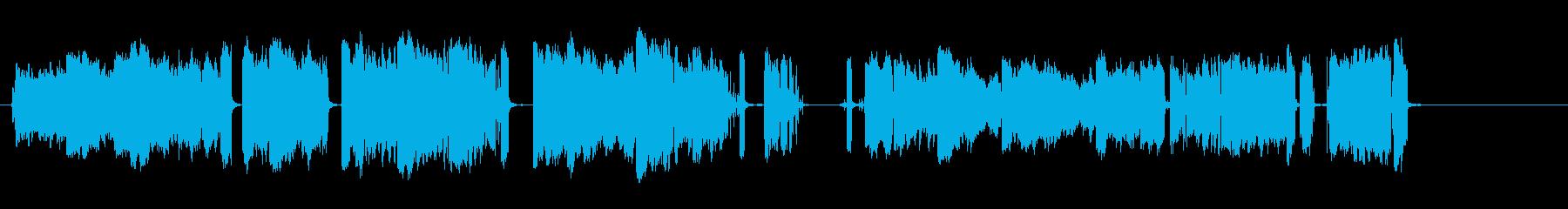 電気アーク3;安定したスパークのオ...の再生済みの波形