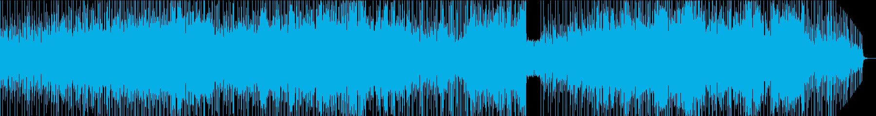 6/8のアコギ系ハードロックの再生済みの波形