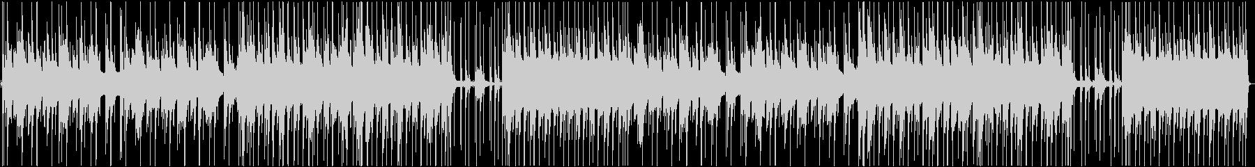 ピアノ・ドラム・ベースのバラードの未再生の波形
