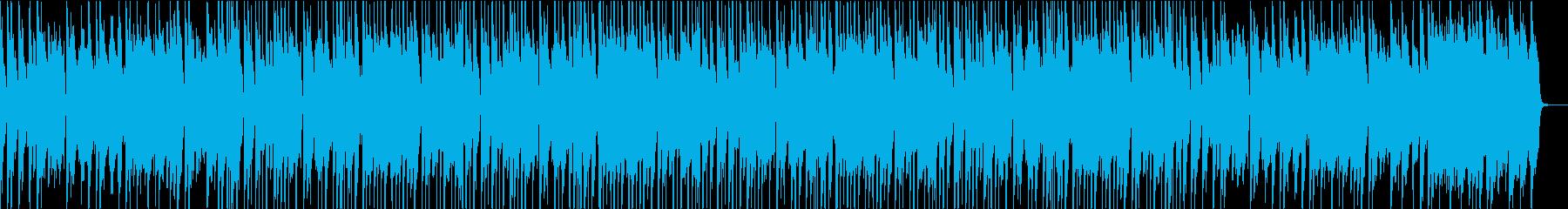 ほのぼのと明るいトークのブルースピアノ♫の再生済みの波形