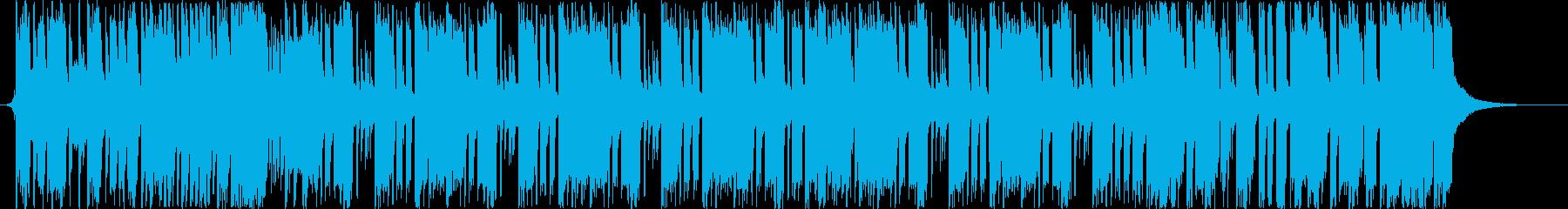 可愛いフューチャーベースの再生済みの波形