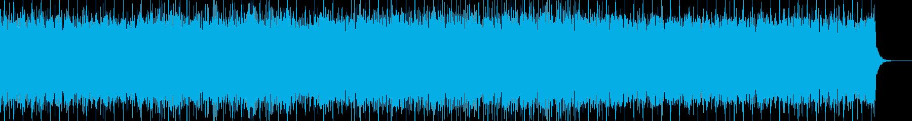 チルでアンビエントなヒーリング系テクノの再生済みの波形