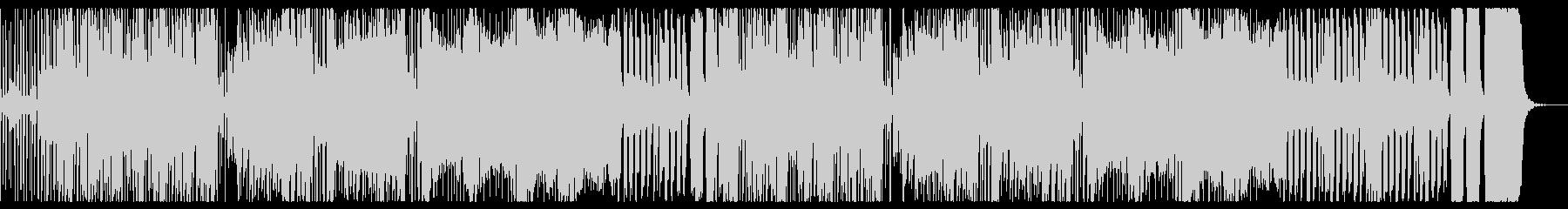 ハロウィンのにぎやかな曲の未再生の波形