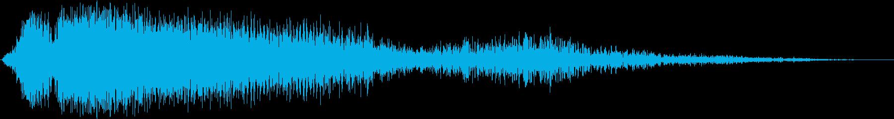 【映画】 トレーラーヒット_32 破壊の再生済みの波形