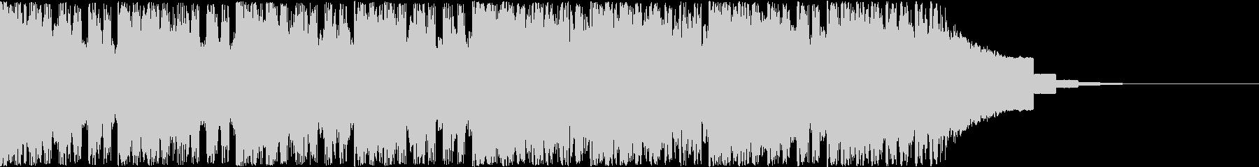 【キッズ向け】ピコピコBGM、かわいい音の未再生の波形