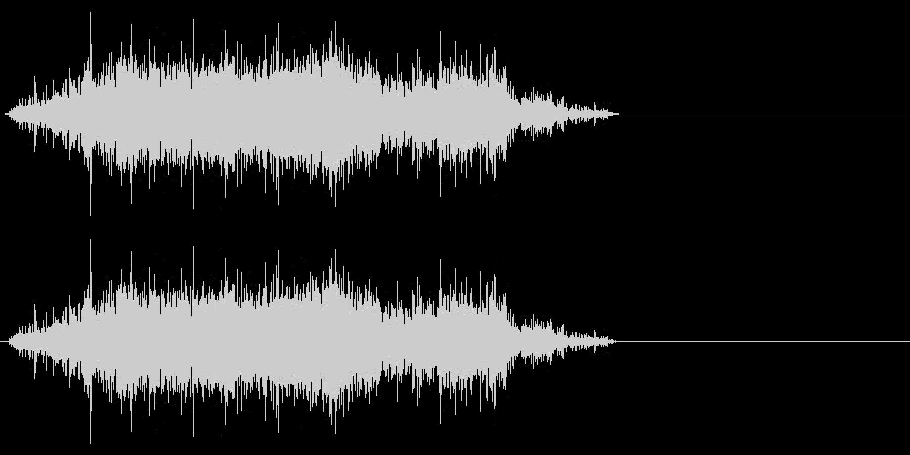 袋・コンビニ、レジ袋2の未再生の波形