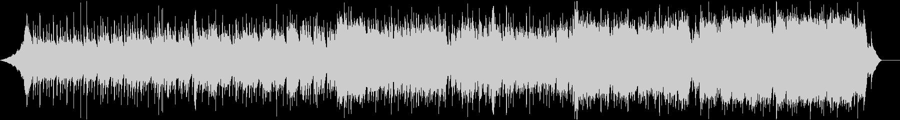 幻想的なアルペジオが美しいインストの未再生の波形