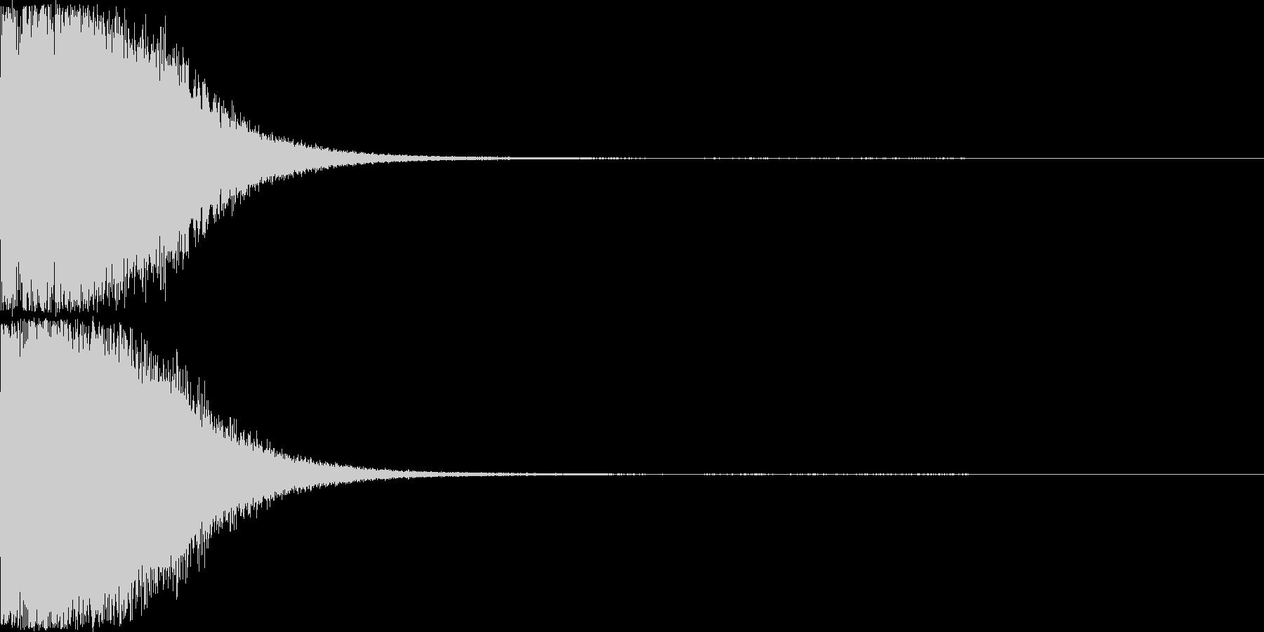 刀 剣 ソード カキーン キュイーン16の未再生の波形