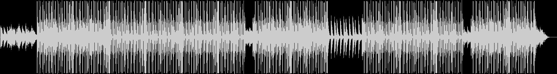 ローファイ、トラップ、チルアウトR&B♪の未再生の波形