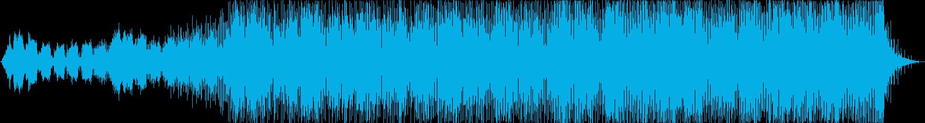 実験的な おしゃれ テクノロジー ...の再生済みの波形