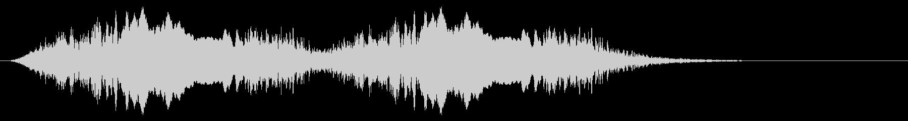 警告音 サイレン02-07(リバーブ 遅の未再生の波形