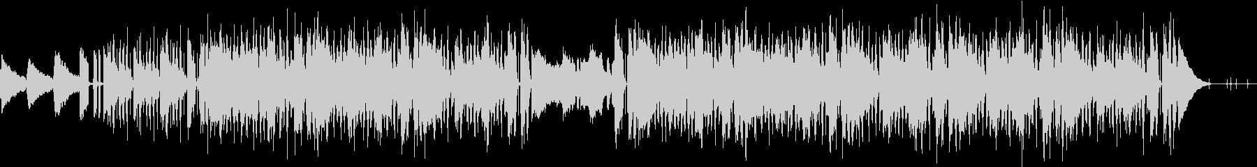 Lofi HIPHOP風のBGMの未再生の波形