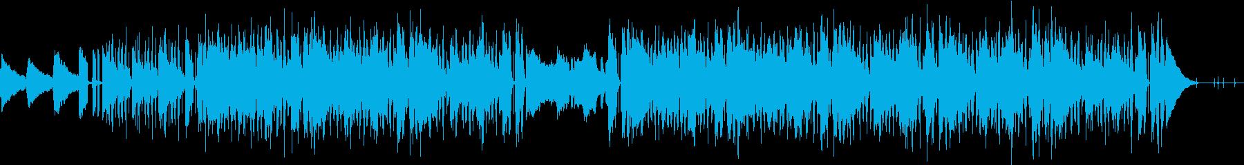 Lofi HIPHOP風のBGMの再生済みの波形