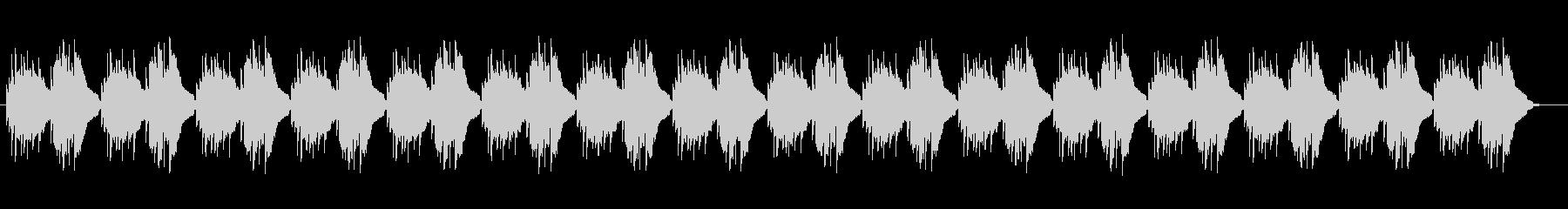 木琴によるリラクゼーションミュージックの未再生の波形