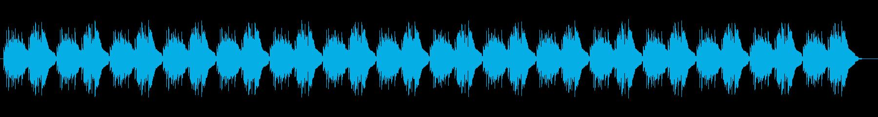 木琴によるリラクゼーションミュージックの再生済みの波形