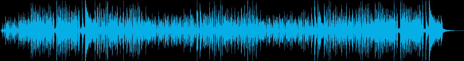 七夕をテーマにした楽曲の再生済みの波形