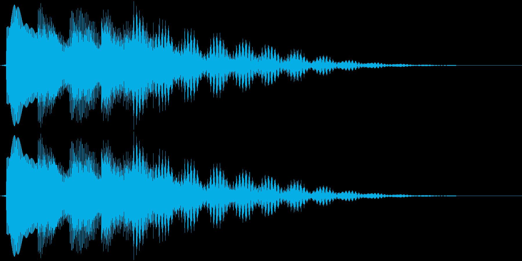 ピロリロリーン(ベル)の再生済みの波形