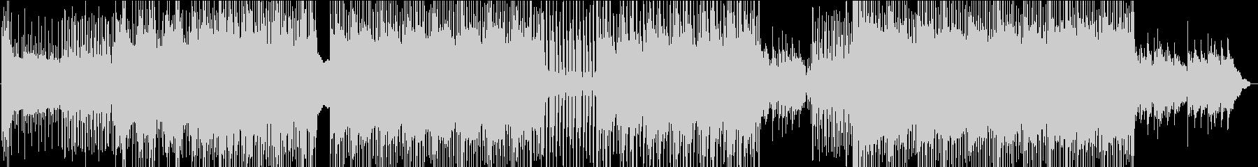 90年代風シティポップの未再生の波形