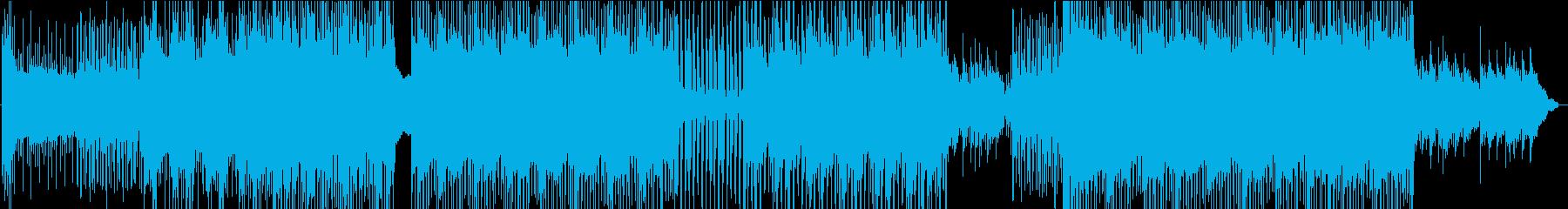 90年代風シティポップの再生済みの波形