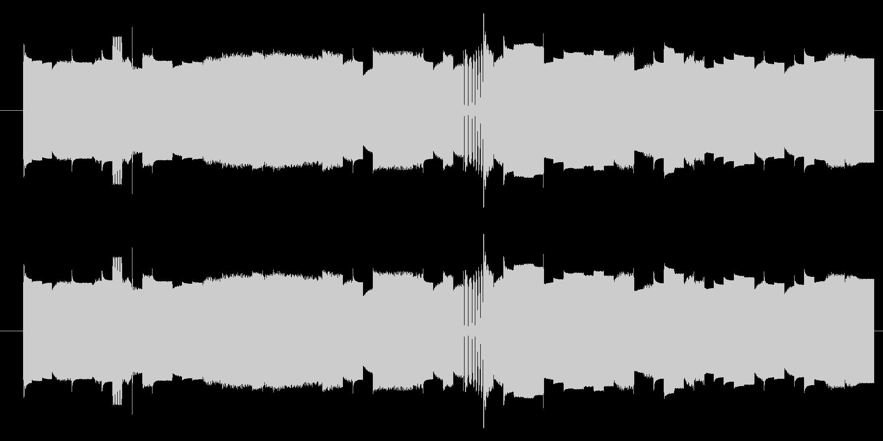 機械 カオスサインディストーション03の未再生の波形
