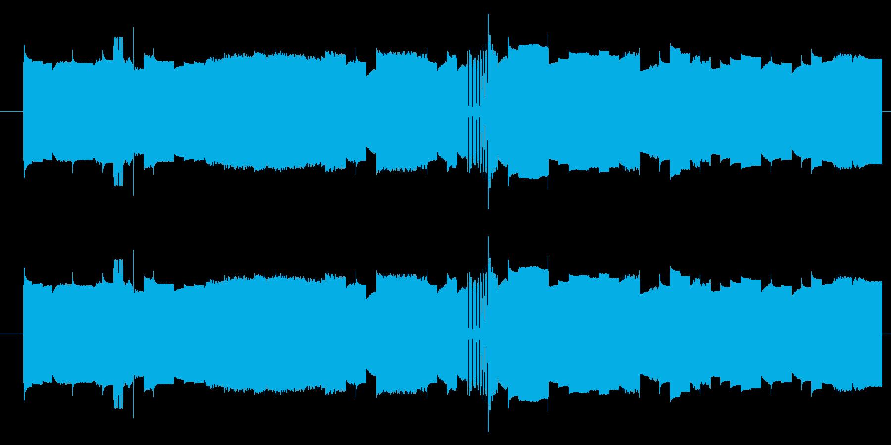 機械 カオスサインディストーション03の再生済みの波形