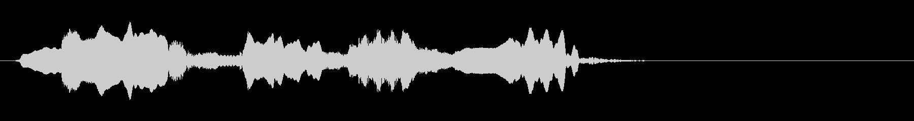 尺八 生演奏 古典風 残響音有 #16の未再生の波形